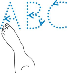 alphabet-writing